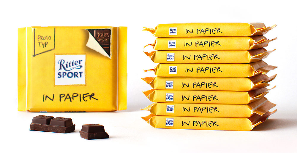 Where sustainability and product protection collide: Example Ritter Sport