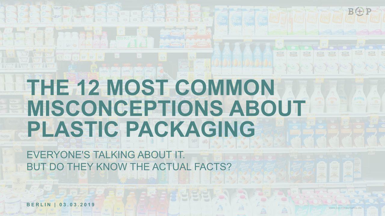Image der Kunststoffverpackungen leidet - sachliche Aufklärung ist notwendig
